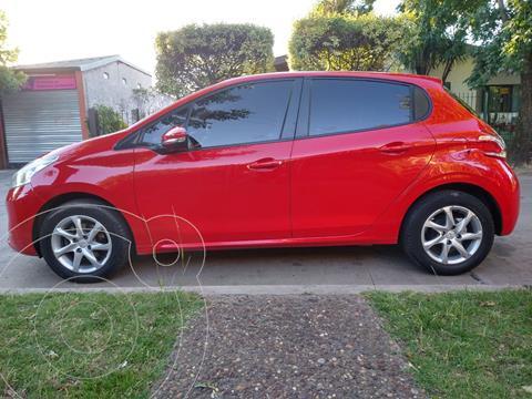 Peugeot 208 Allure 1.5 usado (2020) color Rojo precio $1.200.000