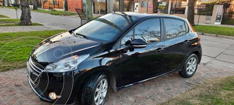 Peugeot 208 Allure 1.5 Full  usado (2014) color Negro precio $1.200.000