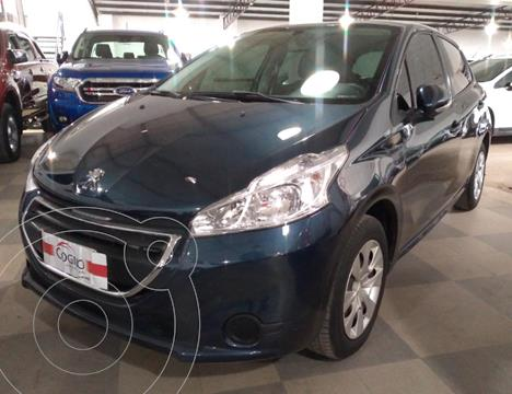Peugeot 208 Allure 1.5 NAV usado (2013) color Azul precio $1.280.000