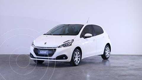 Peugeot 208 Active 1.6 usado (2019) color Blanco Banquise precio $1.600.000