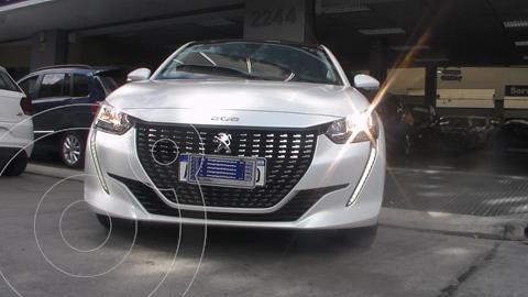 Peugeot 208 Allure 1.6 Tiptronic usado (2021) color Blanco precio $2.499.900