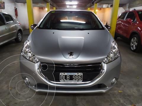 Peugeot 208 Allure 1.6  usado (2014) color Gris Aluminium financiado en cuotas(anticipo $675.000)