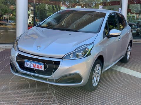 Peugeot 208 Active 1.6 usado (2018) color Gris precio $1.389.990