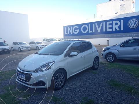 Peugeot 208 Feline 1.6 Pack Cuir usado (2016) color Blanco Nacre precio $1.450.000