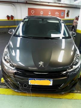 Peugeot 208 Active 1.6 usado (2020) color Gris precio $1.950.000