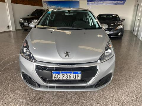 Peugeot 208 Active 1.6 usado (2018) color Gris financiado en cuotas(anticipo $725.000)