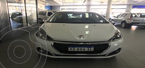 Peugeot 208 Allure 1.6 Aut NAV usado (2016) color Blanco precio $728.000
