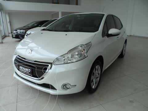 Peugeot 208 Active 1.5  usado (2013) color Blanco Nacre precio $1.350.000