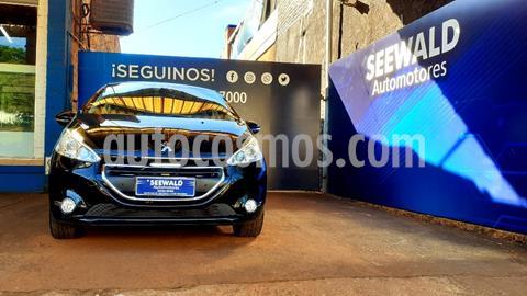 Peugeot 208 1.6 N 16v Feline (115cv) usado (2014) color Azul precio $1.350.000