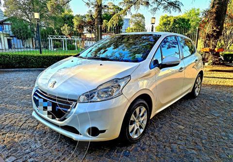 Peugeot 208 Active 1.5 usado (2015) color Blanco precio $1.590.000