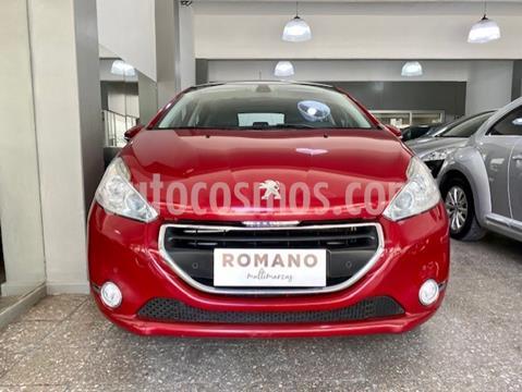 Peugeot 208 Feline 1.6 Pack Cuir usado (2013) color Rouge Noir precio $1.250.000