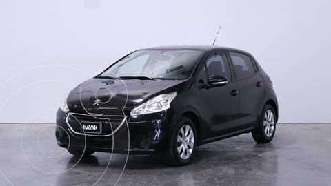 Peugeot 208 Active 1.5  usado (2013) color Negro precio $1.110.000