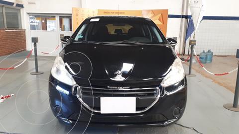Peugeot 208 1.5 N 8v Active usado (2014) color Negro precio $1.190.000