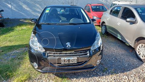 Peugeot 208 Allure 1.6 Aut NAV usado (2015) color Negro precio $1.195.000