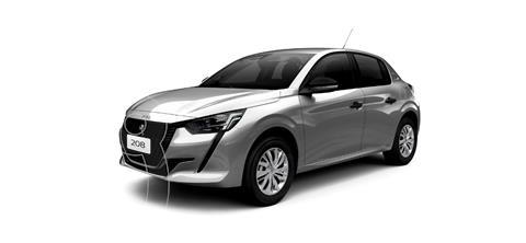 Peugeot 208 Like Pack 1.6 nuevo color Gris Aluminium precio $2.500.000
