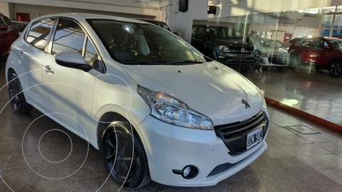 Peugeot 208 Active 1.5  usado (2014) color Blanco precio $1.360.000