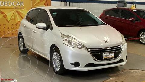Peugeot 208 Active 1.5 N 5p usado (2013) color Blanco precio $1.200.000