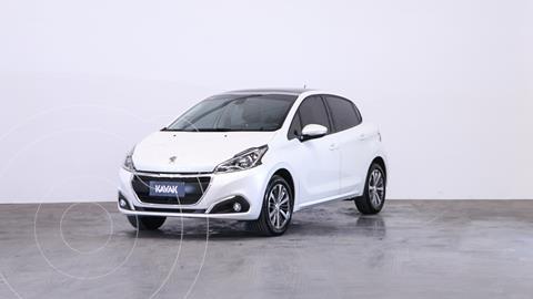 Peugeot 208 Feline 1.6 usado (2019) color Blanco Banquise precio $2.080.000