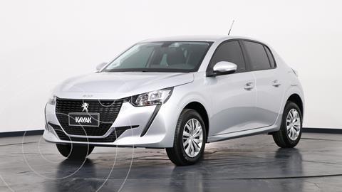 Peugeot 208 Like Pack 1.6 usado (2021) color Plata precio $2.375.000