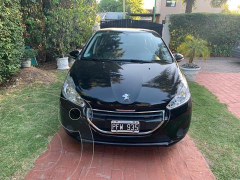 Peugeot 208 Active 1.5 usado (2015) color Negro Perla precio $1.050.000