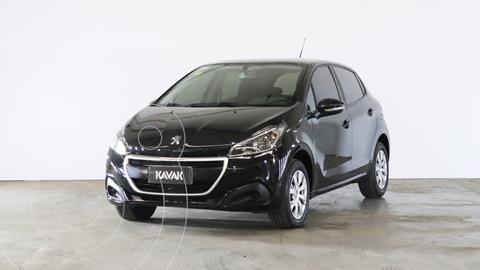 Peugeot 208 Active 1.5  usado (2016) color Negro Perla precio $1.310.000