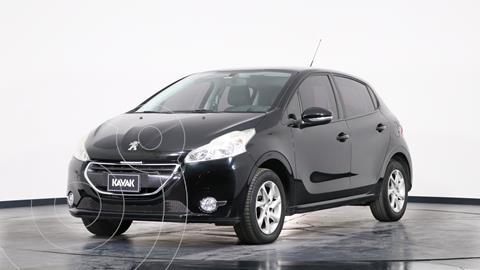 Peugeot 208 Allure 1.5  usado (2014) color Negro precio $1.280.000