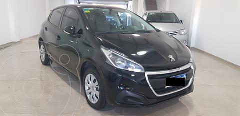 Peugeot 208 Active 1.5  usado (2016) color Negro Perla financiado en cuotas(anticipo $714.000)