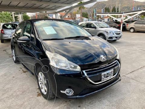 Peugeot 208 Active 1.5  usado (2013) color Negro precio $1.210.000