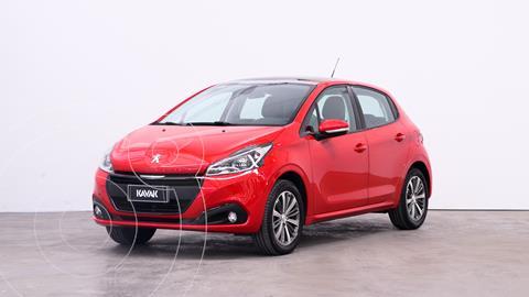 Peugeot 208 Feline 1.6 usado (2019) color Rojo Aden precio $2.140.000