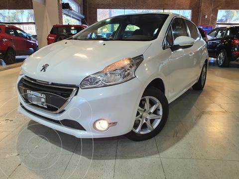 Peugeot 208 Allure 1.5  usado (2015) color Blanco financiado en cuotas(anticipo $660.000)