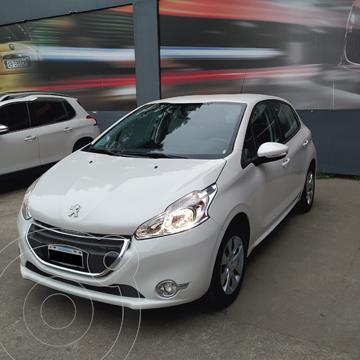 Peugeot 208 Active 1.5  usado (2013) color Blanco precio $1.290.000