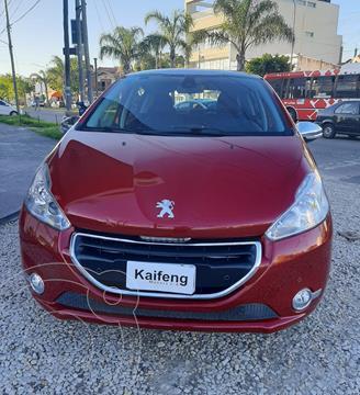 Peugeot 208 Feline 1.6 Pack Cuir usado (2013) color Rojo Lucifer financiado en cuotas(anticipo $766.200)
