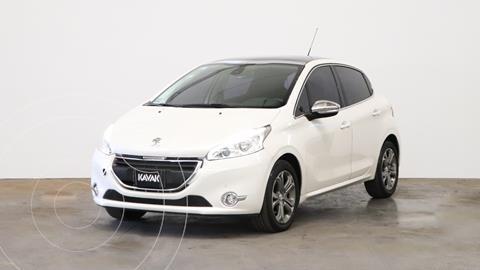 Peugeot 208 Feline 1.6  usado (2014) color Blanco Nacre precio $1.320.000