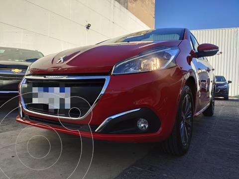 Peugeot 208 Feline 1.6 usado (2017) color Rojo Rubi financiado en cuotas(anticipo $808.750)