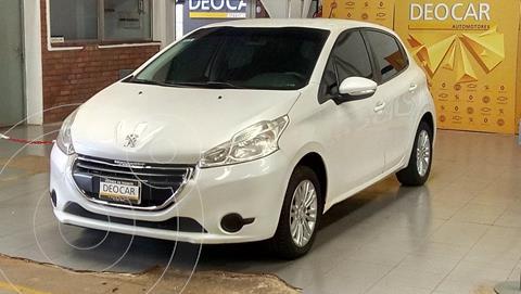 Peugeot 208 Active 1.5  usado (2013) color Blanco Nacre precio $1.200.000