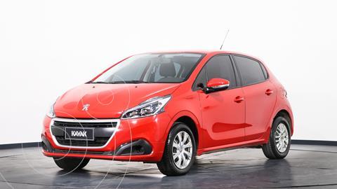 Peugeot 208 Active 1.6 usado (2017) color Rojo Aden precio $1.545.000