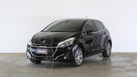 Peugeot 208 Feline 1.6 usado (2016) color Negro Perla precio $1.560.000