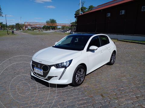 Peugeot 208 Allure 1.6 usado (2020) color Blanco precio $2.950.000