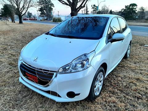 Peugeot 208 Active 1.5  usado (2016) color Blanco precio $1.551.000