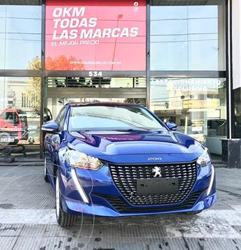 Peugeot 208 Active 1.6 nuevo color Azul Oscuro financiado en cuotas(anticipo $600.000)