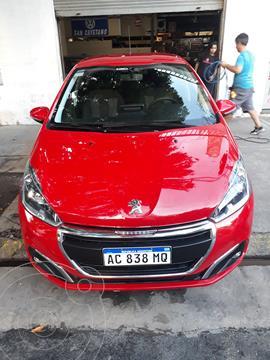 Peugeot 208 Allure 1.6 Aut NAV usado (2018) color Rojo Aden precio $1.890.000