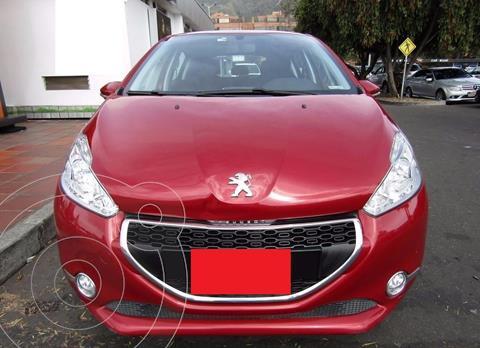 Peugeot 208 Allure usado (2015) color Rojo precio $35.000.000