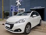 Foto venta Auto usado Peugeot 208 Feline 1.6  (2018) color Blanco precio $600.000