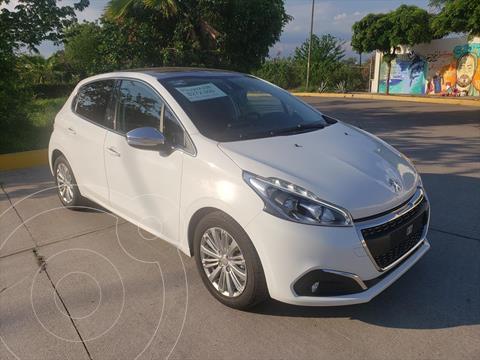 Peugeot 208 1.6L Allure Aut  usado (2020) color Blanco precio $272,900