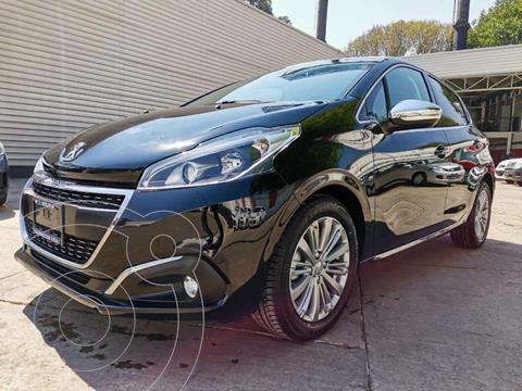 Peugeot 208 1.6L Allure Pack usado (2021) color Negro precio $335,000