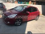 Peugeot 208 1.6L Feline Aut usado (2014) color Rojo precio $135,400