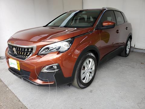 Peugeot 3008 1.6L Active Aut  usado (2018) color Naranja precio $79.990.000