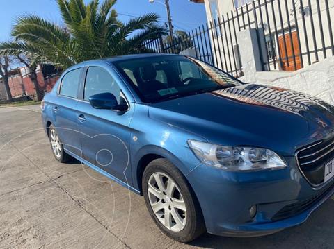 Peugeot 301 1.6L Allure HDi 92HP  usado (2017) color Azul Kyanos precio $8.500.000