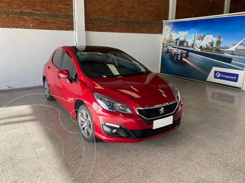 Peugeot 308 Feline THP Tiptronic usado (2017) color Rojo Rubi financiado en cuotas(anticipo $955.000)