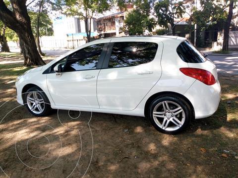 Peugeot 308 Feline HDi 2014/5 usado (2015) color Blanco Nacre precio $1.450.000